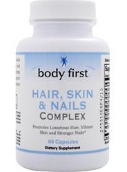 Hair, Skin & Nails Complex Body First (60 caps)