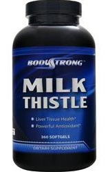 Milk Thistle 250 mg BodyStrong (90 гелевых капсул)