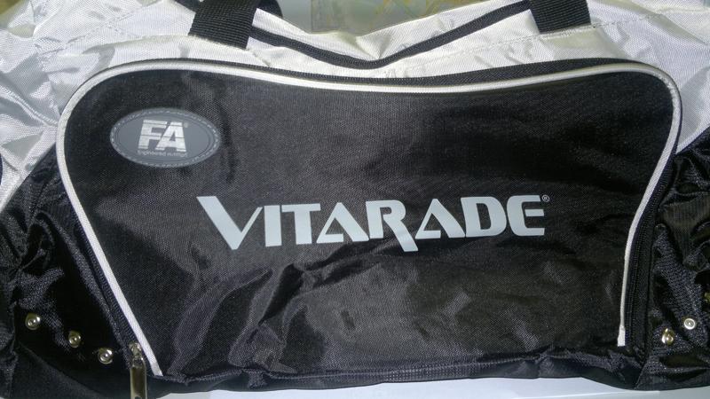 Спортивная Сумка Fitness Authority с надписью Vitarade