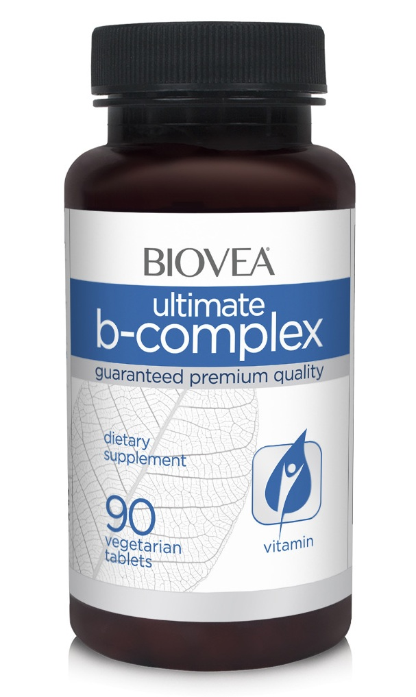 B-Complex Ultimate 500 mg Biovea (90 таб)