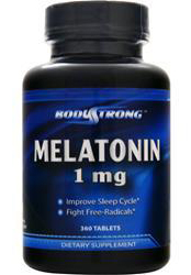 Melatonin 1 mg BodyStrong (360 таб)