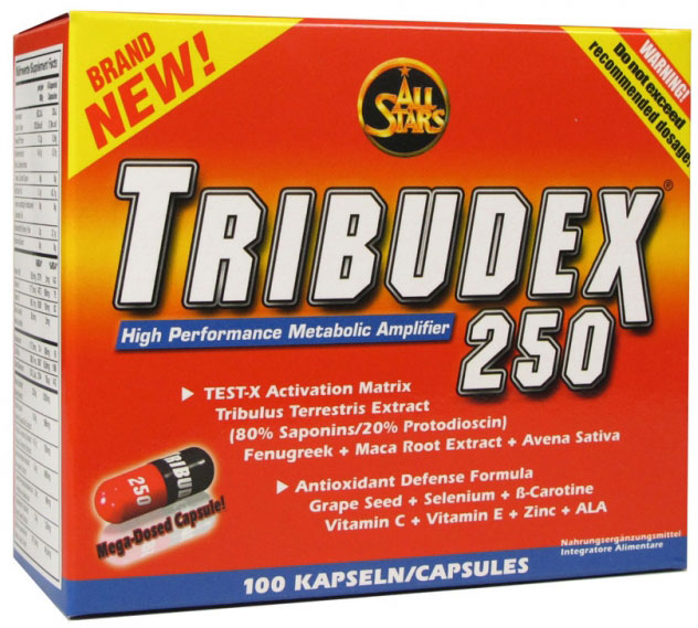 Tribudex 250 All Stars (100 кап)