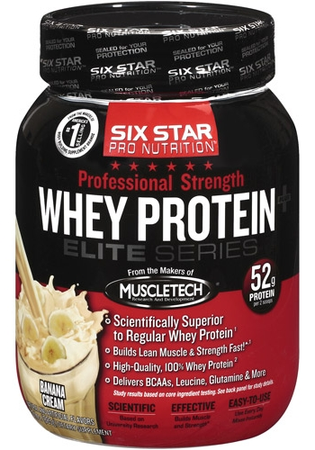 Whey Protein Elite Series Six Star (885 гр)