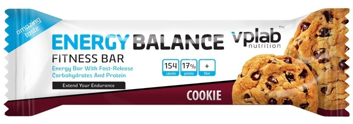 Energy Balance Fitness Bar VPLab Nutrition (35 gr)