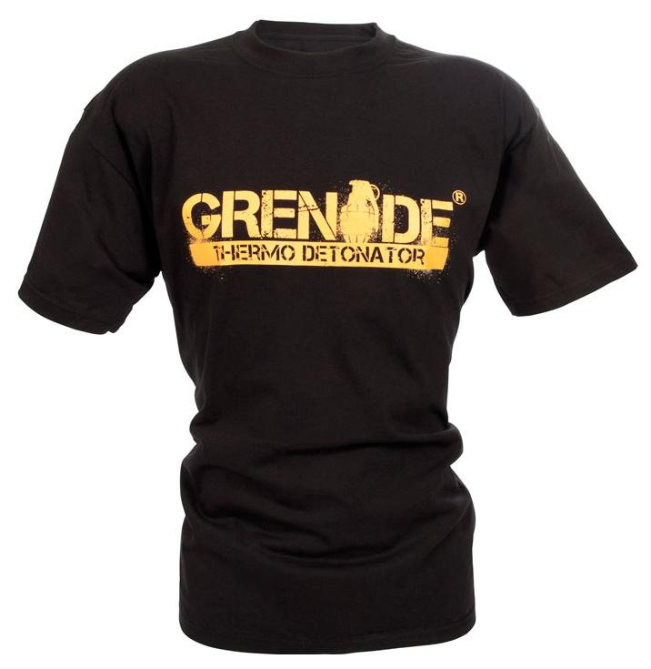 Футболка черная Grenade