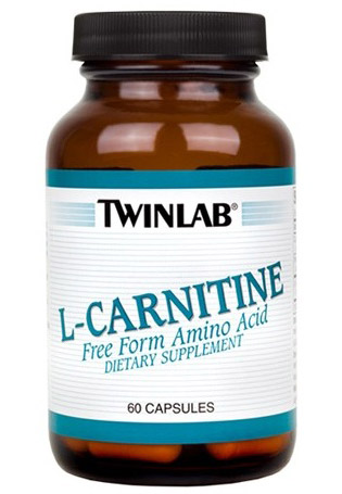 L-Carnitine 250 mg Twinlab (60 кап)(годен до 06/2018)