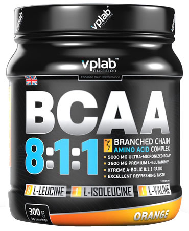 BCAA 8:1:1 VP Laboratory (300 гр)