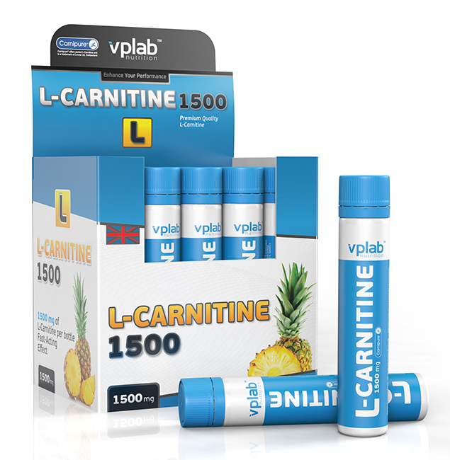 L-Carnitine 1500 VP Laboratory (20 ампул)