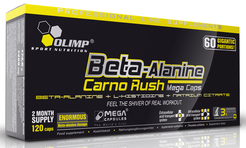 Beta-Alanine Carno Rush Mega Caps Olimp (120 кап)