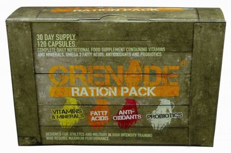 Grenade Ration Pack (120 cap)