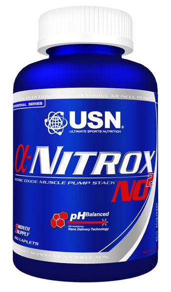 Alpha Nitrox NO2 USN (180 кап)