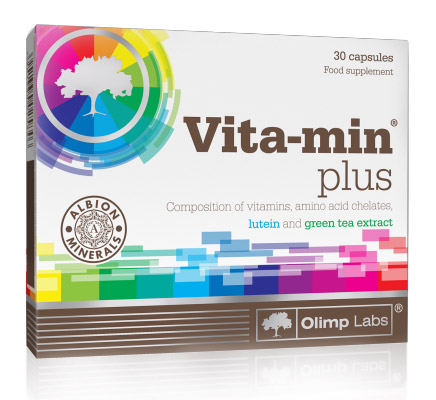 Vita-min plus Olimp (30 cap)