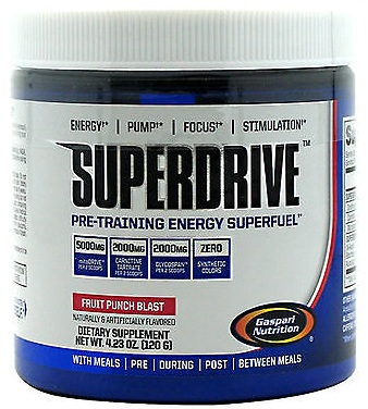 SuperDrive Gaspari Nutrition (120 гр, 20 порций)