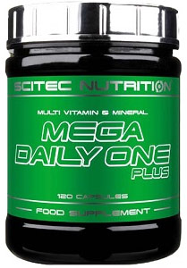 MEGA DAILY ONE PLUS SCITEC NUTRITION (120 cap)