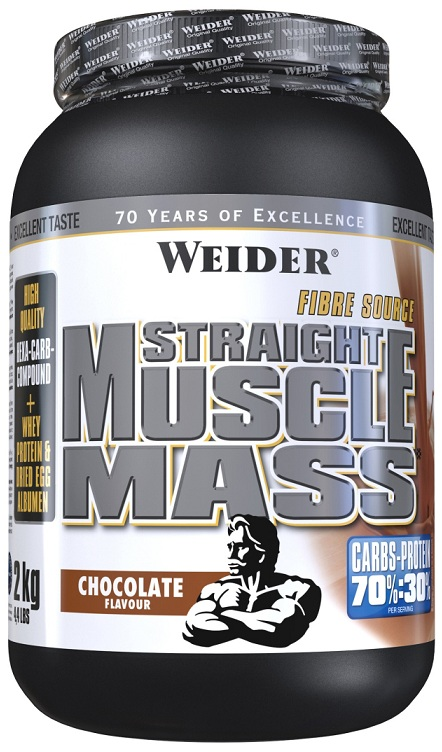 Straight Muscle Mass Weider (2 кг)
