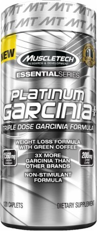 100% Platinum Garcinia Plus MuscleTech (120 таб)