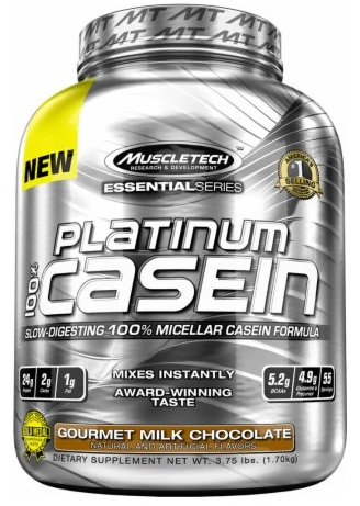 100% Platinum Casein Muscle Tech (1640-1700 гр)