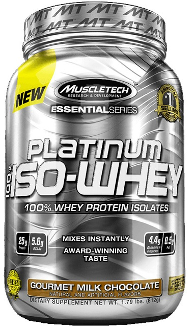 100% Platinum Iso-Whey Muscle Tech (797-812 g)