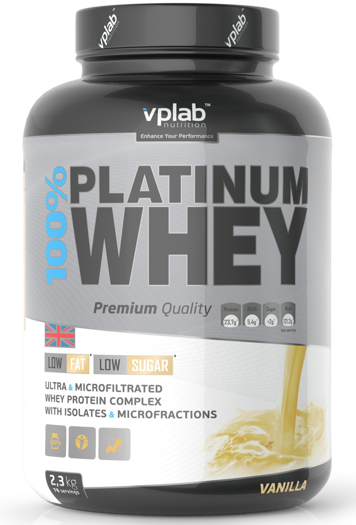 100% Platinum Whey VP Laboratory (2300 гр)