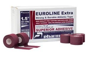 EUROLINE Extra Tape-Тейп Поликотоновый Pharmacels3,8см-9,1м
