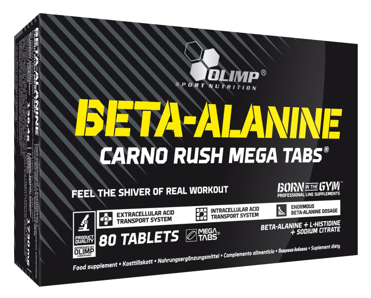 Beta-Alanine Carno Rush Mega Caps Olimp (80 таб)