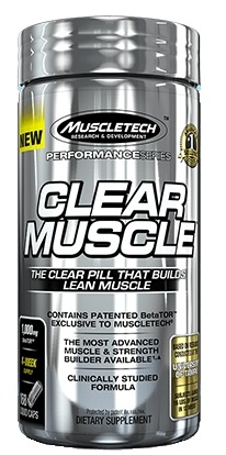 Clear Muscle Muscle Tech (168 caps)