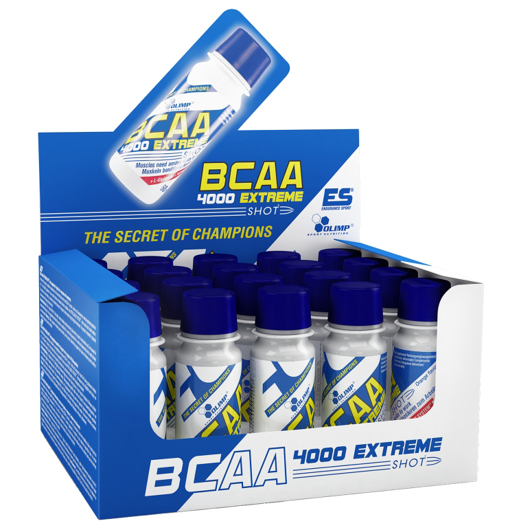 BCAA 4000 Extreme Shot Olimp (20 x 60 ml)