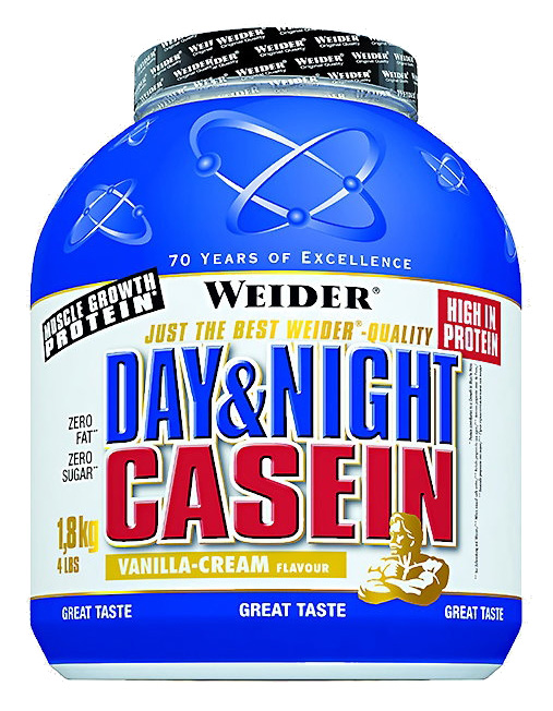 Day & Night Casein Weider (1800 гр)