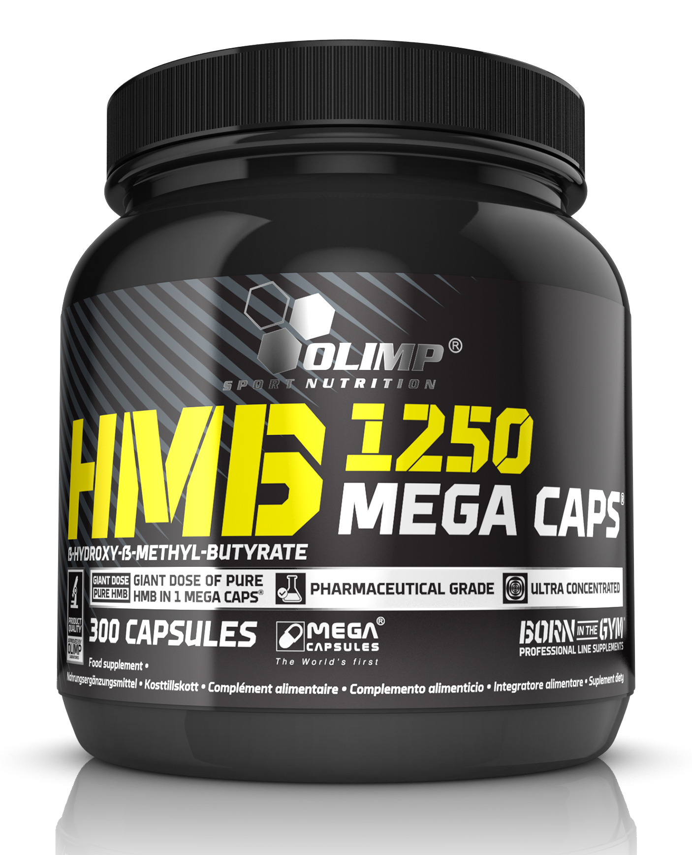 HMB MEGA CAPS Olimp (300 кап, 1 кап = 1250 мг)