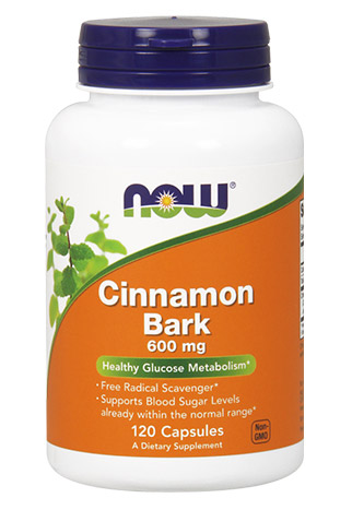 Cinnamon Bark 600 mg NOW (120 кап)(годен до 12/2017)