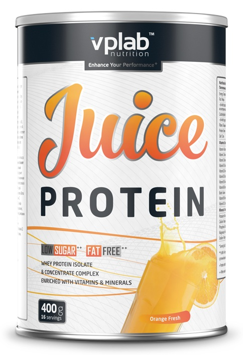 Juice Protein VP Laboratory (400 гр)(годен до 09/2017)