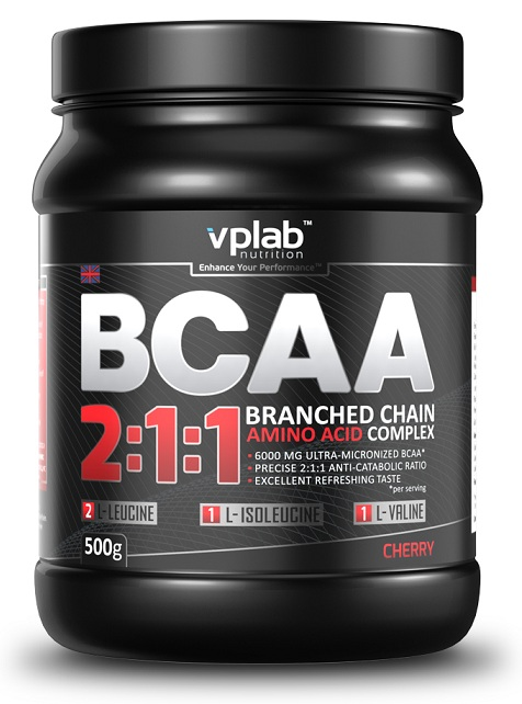 BCAA 2:1:1 VP Laboratory (500 гр)