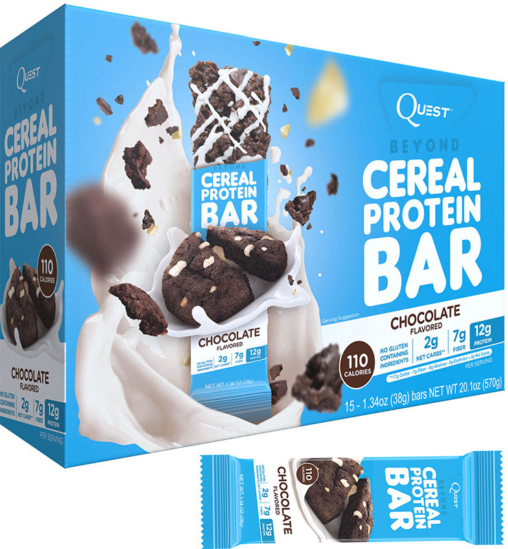 Beyond Cereal Protein Bar Quest Nutrition (38 гр)