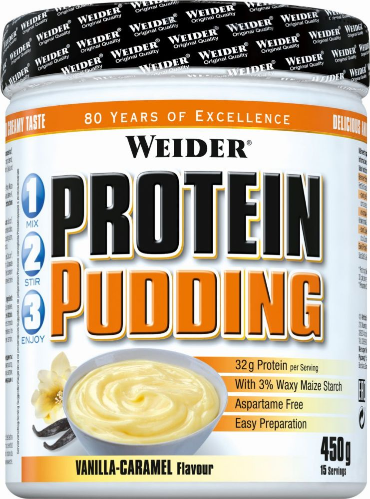 Protein Pudding Weider (450 g)(EXP 06/2018)