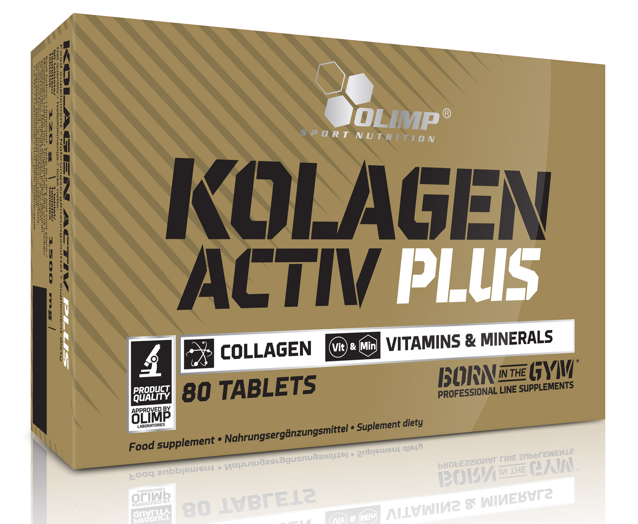 Kolagen Activ Plus Sport Edition Black Olimp (80 tab)