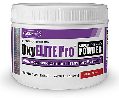 OxyELITE Pro Super Thermo Powder USPlabs (130 гр)
