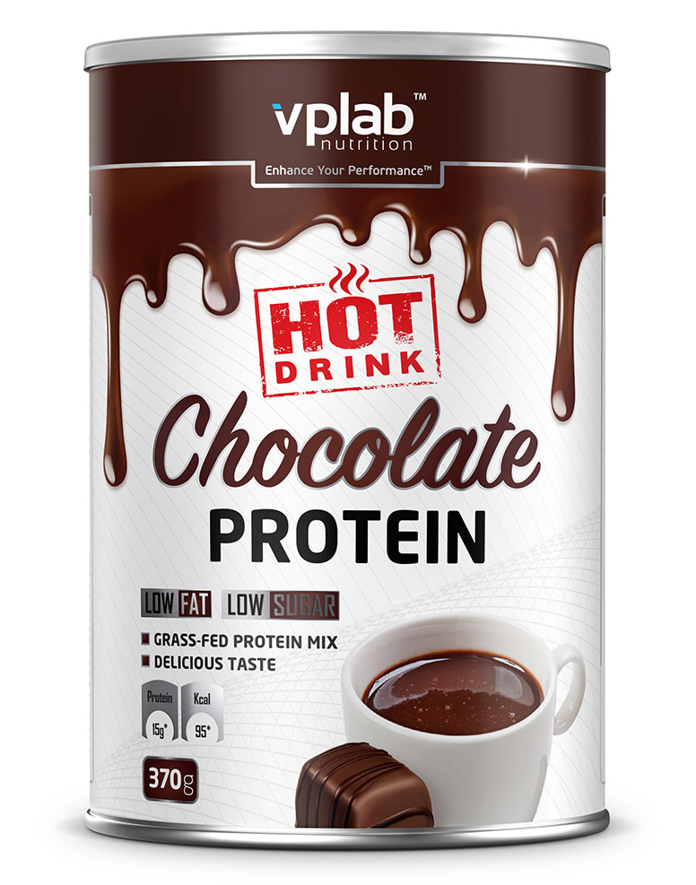 Hot Chocolate Protein VPLab Nutrition (370 g)(EXP 01/2020)