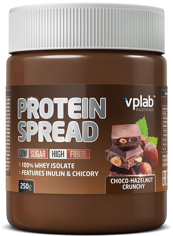 Protein Spread Smooth VPLab Nutrition (250 гр)(годен до 02/2019)