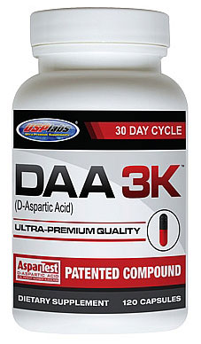 DAA 3K (D-Aspartic Acid) USPlabs (120 кап)