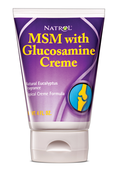 MSM and Glucosamine Creme Natrol (120 ml)