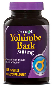 Yohimbe Bark 500 mg Natrol (135 кап)