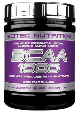 BCAA 1000 SCITEC NUTRITION (300 кап)