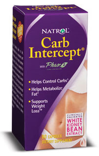 Carb Intercept with Phase 2+ Natrol (60 cap)