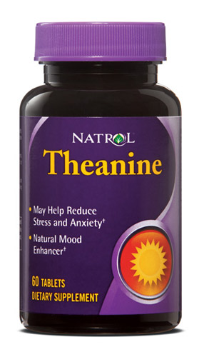 Theanine Natrol (60 tab)(EXP 09/2017)