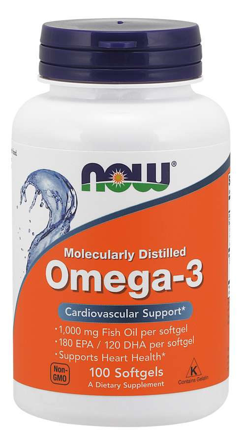 Omega-3 NOW (100 Softgels)