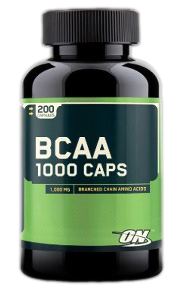 BCAA 1000 Optimum Nutrition (200 кап)