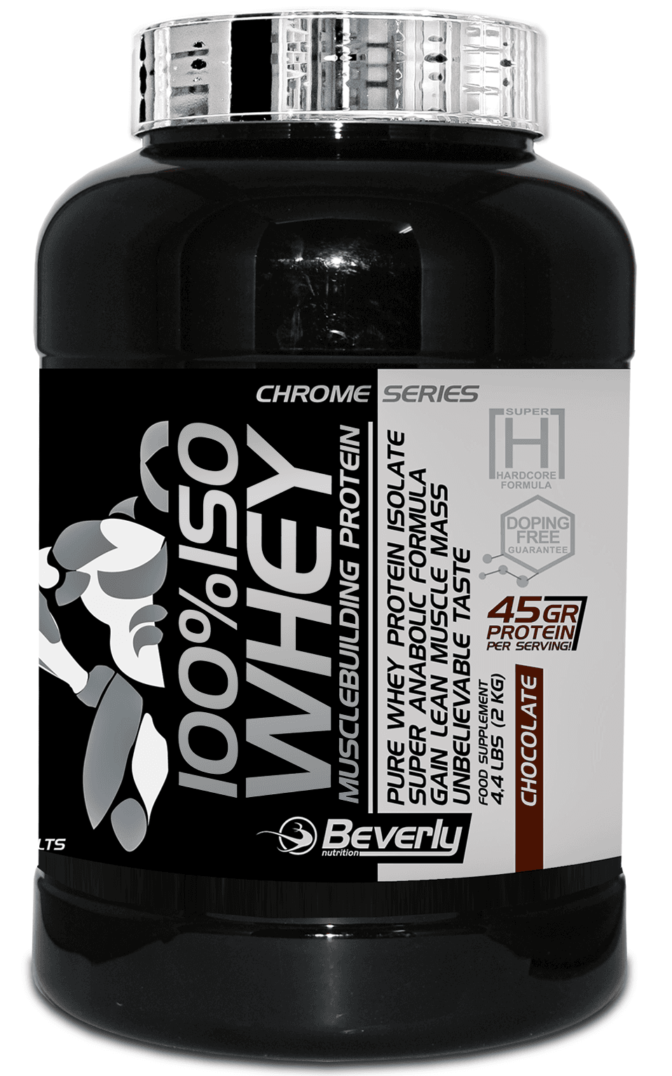 100% ISO WHEY Beverly (2000 gr)(EXP 09/2017)