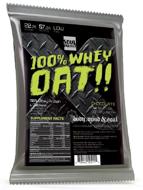 100% Whey Oat Soul Project Labs (908 гр)