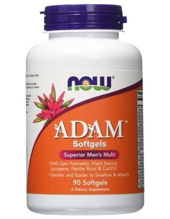 ADAM Superior Men's Multiple Vitamin NOW (90 гель кап)