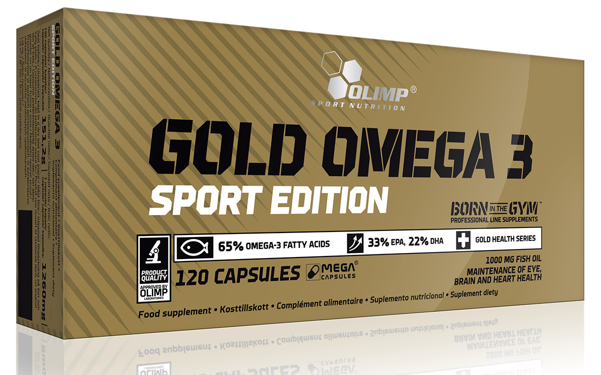 Gold Omega 3 Sport Edition Olimp (120 cap)
